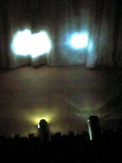 標識灯と前照灯